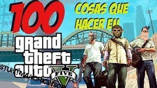 getlinkyoutube.com-100 cosas que hacer en Grand Theft Auto 5 | StuntmanoriginsGP