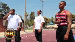 getlinkyoutube.com-Rapper V8 posted at Jackie Robinson Park in Pasadena -  PDL turf