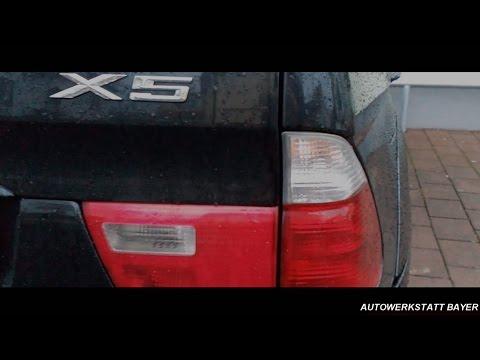 BMW X5 замена передних рычагов Vorderen Querlenker BMW X5