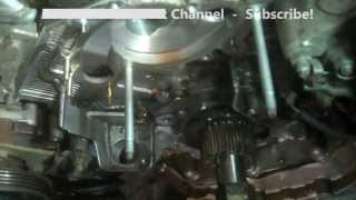 getlinkyoutube.com-Timing belt Replacement Lexus RX300 2003 3.0L PART 2 1MZFE  Install Remove Replace