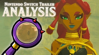 getlinkyoutube.com-Zelda: Breath of the Wild - Nintendo Switch Presentation 2017 Trailer Analysis
