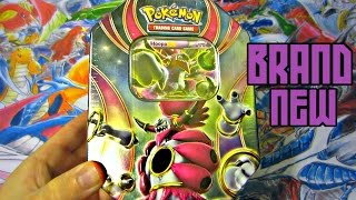 getlinkyoutube.com-Pokemon Cards Hoopa EX Power Beyond Tin Opening ! FALL 2015 BRAND NEW!
