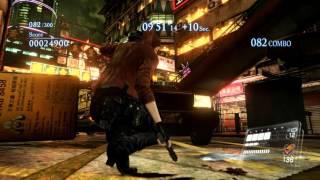 getlinkyoutube.com-Resident Evil 6 Mercenaries No Mercy. Claire (Helena), Urban Chaos.