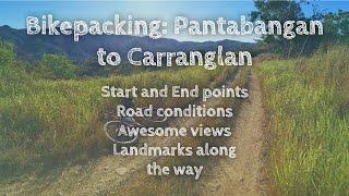 Bikepacking Nueva Ecija: San Jose to Carranglan