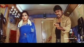getlinkyoutube.com-Rajathi Raja Movie Lawrence Blackmailing Sailaja Scene ||  Raghava Lawrence, Karunas