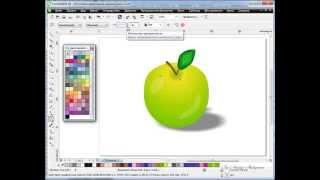 getlinkyoutube.com-Видео уроки CorelDraw  Инструмент Интерактивная заливка