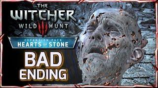 getlinkyoutube.com-Witcher 3: HEARTS OF STONE - BAD ENDING ► Master Mirror Takes Olgierd's Soul & Rewards Geralt