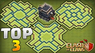 getlinkyoutube.com-Clash of Clans - TOP 3 BEST TOWNHALL 9 FARMING BASES! Never Lose Your Resources!