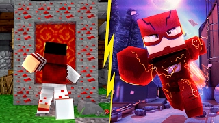 getlinkyoutube.com-Minecraft: PORTAL MUNDO DO FLASH ‹ AMENIC ›