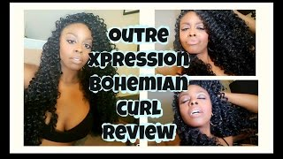 Xpression Crochet Hair Bohemian : getlinkyoutube.com-Outre Xpression Bohemian Curl REVIEW I AM JAYNE ...