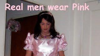 getlinkyoutube.com-Real Men Wear Pink - Pretty Sissy Maids in Pink - Because You Love Crossdressing