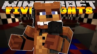 getlinkyoutube.com-Minecraft - FIVE NIGHTS AT FREDDYS - FREDDYS PIZZERIA #1 (Custom Roleplay)
