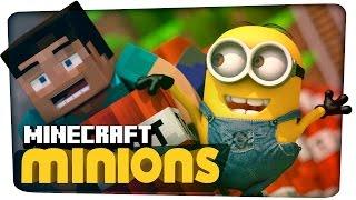 getlinkyoutube.com-Minions meet Minecraft (3D Animation)