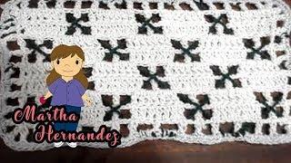 getlinkyoutube.com-Cobija o Colcha para Bebe  en Crochet Yolis