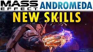 getlinkyoutube.com-Mass Effect Andromeda: NEW SKILLS Revealed! | Abilities & Leveling System Analysis