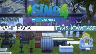 getlinkyoutube.com-The Sims 4 - Vampires Game Pack - ITEM SHOWCASE