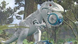 getlinkyoutube.com-LEGO Jurassic World Walkthrough Part 17: Gyrosphere Escape (Jurassic World)