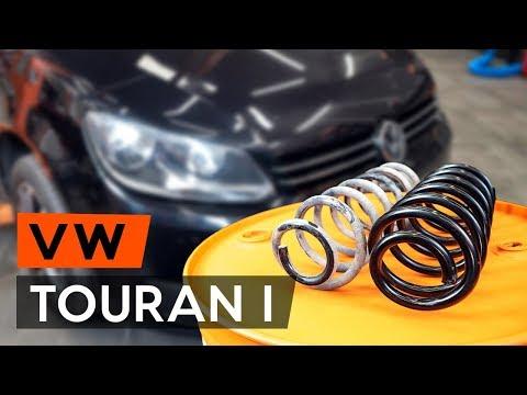 Где находится передние пружины у Audi A5