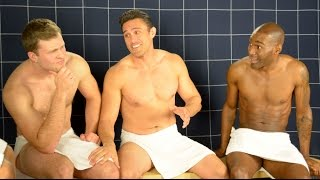 getlinkyoutube.com-Straight Men Having Butt Sex - Steam Room Stories.com