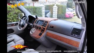 VW T5 transporter full tuning and moding