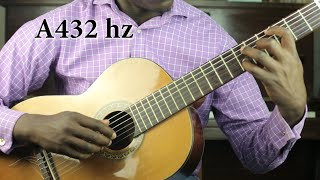 getlinkyoutube.com-440 hz vs. 432 hz - My Guitar Experiment