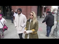 Doutzen Kroes and her husband Sunnery James shopping in New York City