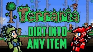 getlinkyoutube.com-How to Spawn Any Item You Want (Piggy Bank Glitch) Terraria 1.2 console
