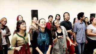 getlinkyoutube.com-Behind the Scene for the AR Rahman show - Berklee Indian Ensemble