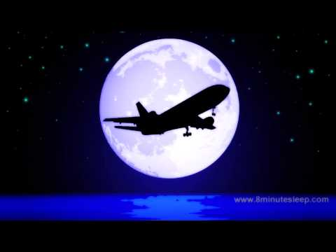 JETLINER NIGHT FLIGHT | Celestial Fans Check This Out! | White Noise For Sleep