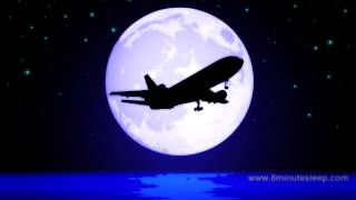 getlinkyoutube.com-JETLINER NIGHT FLIGHT | Celestial Fans Check This Out! | White Noise For Sleep