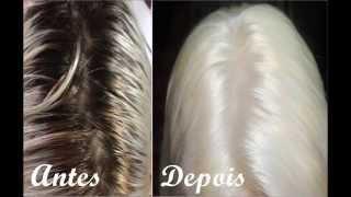getlinkyoutube.com-Retocando a Raiz do cabelo Platinado + Tirando o Preto-Intensy Color
