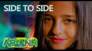 getlinkyoutube.com-SIDE TO SIDE BY Ariana Grande - ARIANN MUSIC - (10 YEARS OLD) COVER REGGAE VERSION