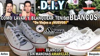 getlinkyoutube.com-DIY: COMO LAVAR Y BLANQUEAR TUS TENIS BLANCOS   FÁCIL Y RÁPIDO
