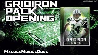 getlinkyoutube.com-10X Gridiron Packs :- Madden Mobile Pack Opening