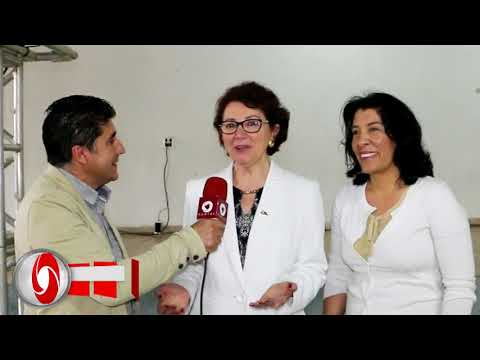 Prefeita Suely e Secretaria de Estado da Educação Ana Seres Trento Comin