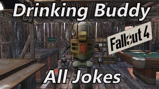 getlinkyoutube.com-Fallout 4 | Drinking Buddy Robot | All Jokes