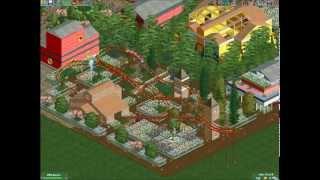 getlinkyoutube.com-Rct2 Building Solarium Valley Part 8: Sabara Gardens
