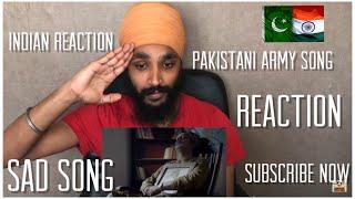 Yaaro Mera Yaar Na Raha | Pakistani Army Song Reaction