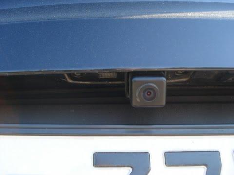 Установка нештатной камеры заднего вида KIA SPORTAGE