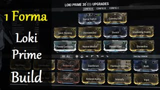getlinkyoutube.com-Warframe Builds - Loki Prime Build (1 Forma)