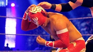 getlinkyoutube.com-WWE: Top 10 Sin Cara (Místico) Botches/Errores