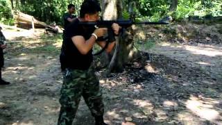 ยิงทดสอบปลอกเก็บเสียง M4