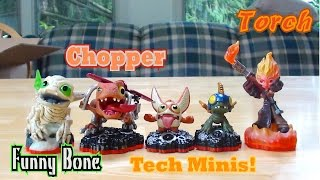 getlinkyoutube.com-Skylanders Trap Team - Package Unboxing Part 3 - Core Skylanders and Tech Minis!