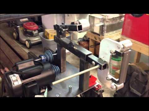 DIY 2 x 72 Belt Grinder pt.2