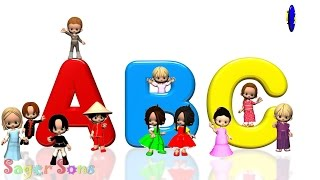 getlinkyoutube.com-Phonics Songs | Learn Alphabet, ABC and Phonics Sounds
