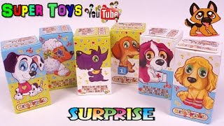 getlinkyoutube.com-Щенки веселые пушистые зверята собачки Игрушки сюрприз FreshToys/PuppiesToys Kinder Surprise