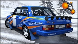 getlinkyoutube.com-BeamNG Drive Volvo 242 LE Crash Testing #163