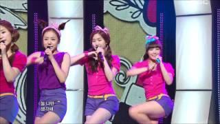 getlinkyoutube.com-A Pink - It Girl, 에이핑크 - 잇 걸, Music Core 20110625