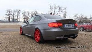 getlinkyoutube.com-BMW M3 E92 G-POWER - Cars & Coffee Paris - February 2013