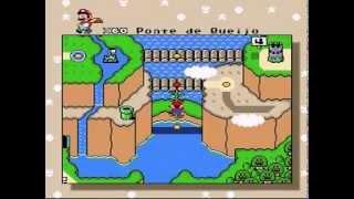 getlinkyoutube.com-Detonado Super Mario World - Twin Bridges (Pontes Gêmeas)
